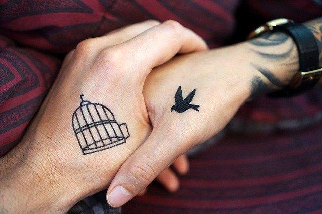 tetování na rukou