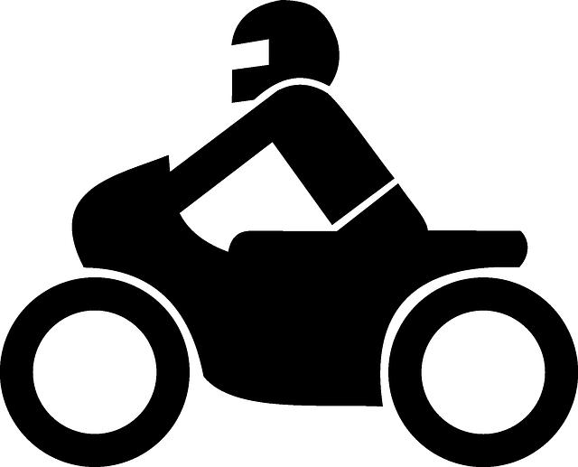 Motorkár, ikona, znak