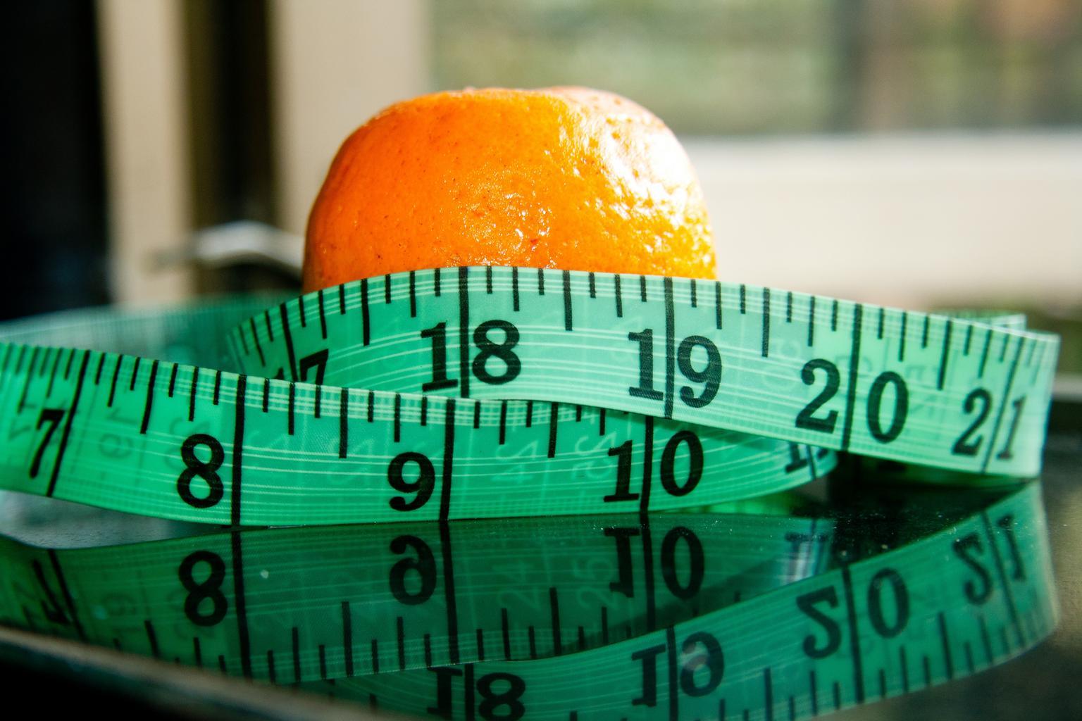 pomaranč, meter, diéta