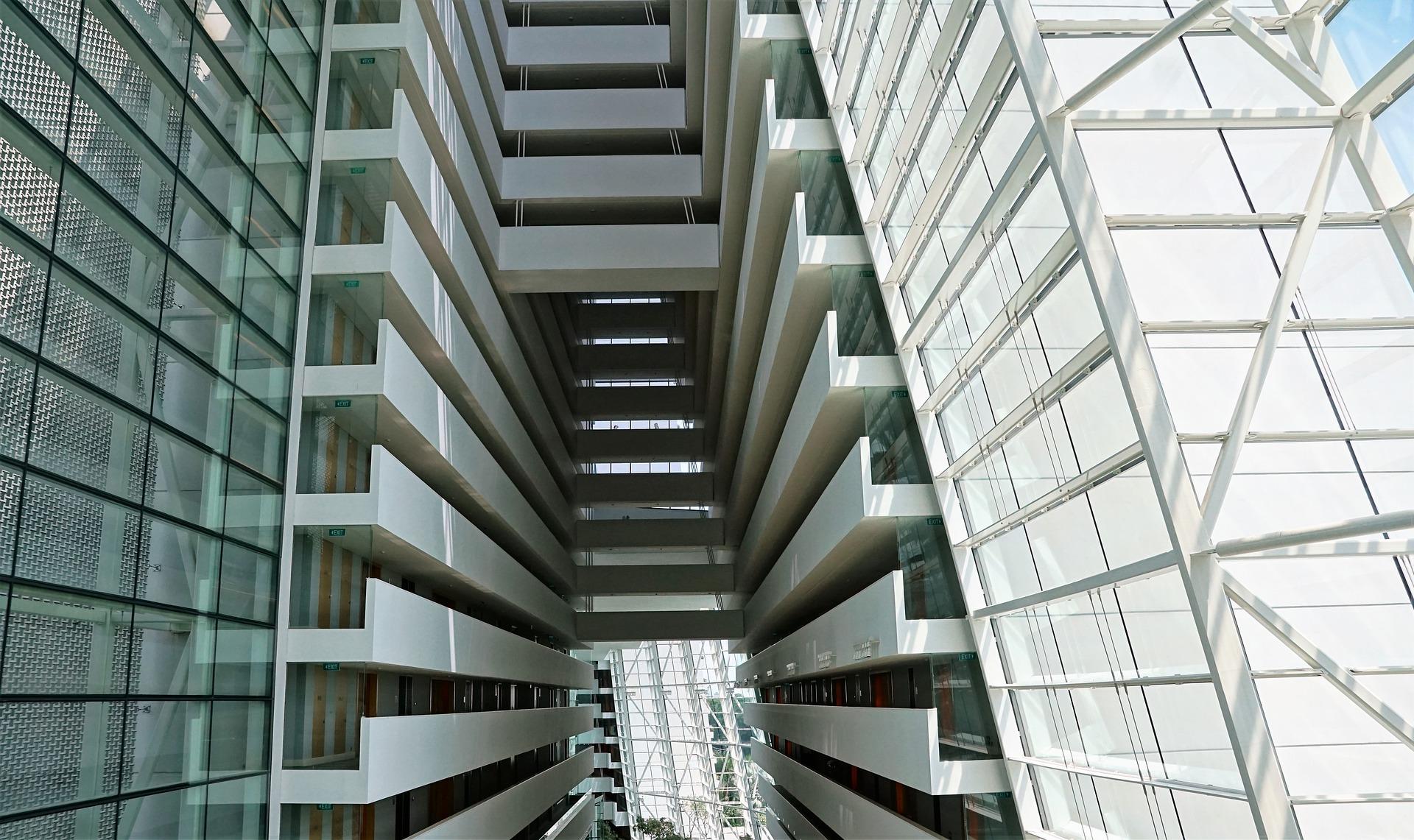 sklo architektúra