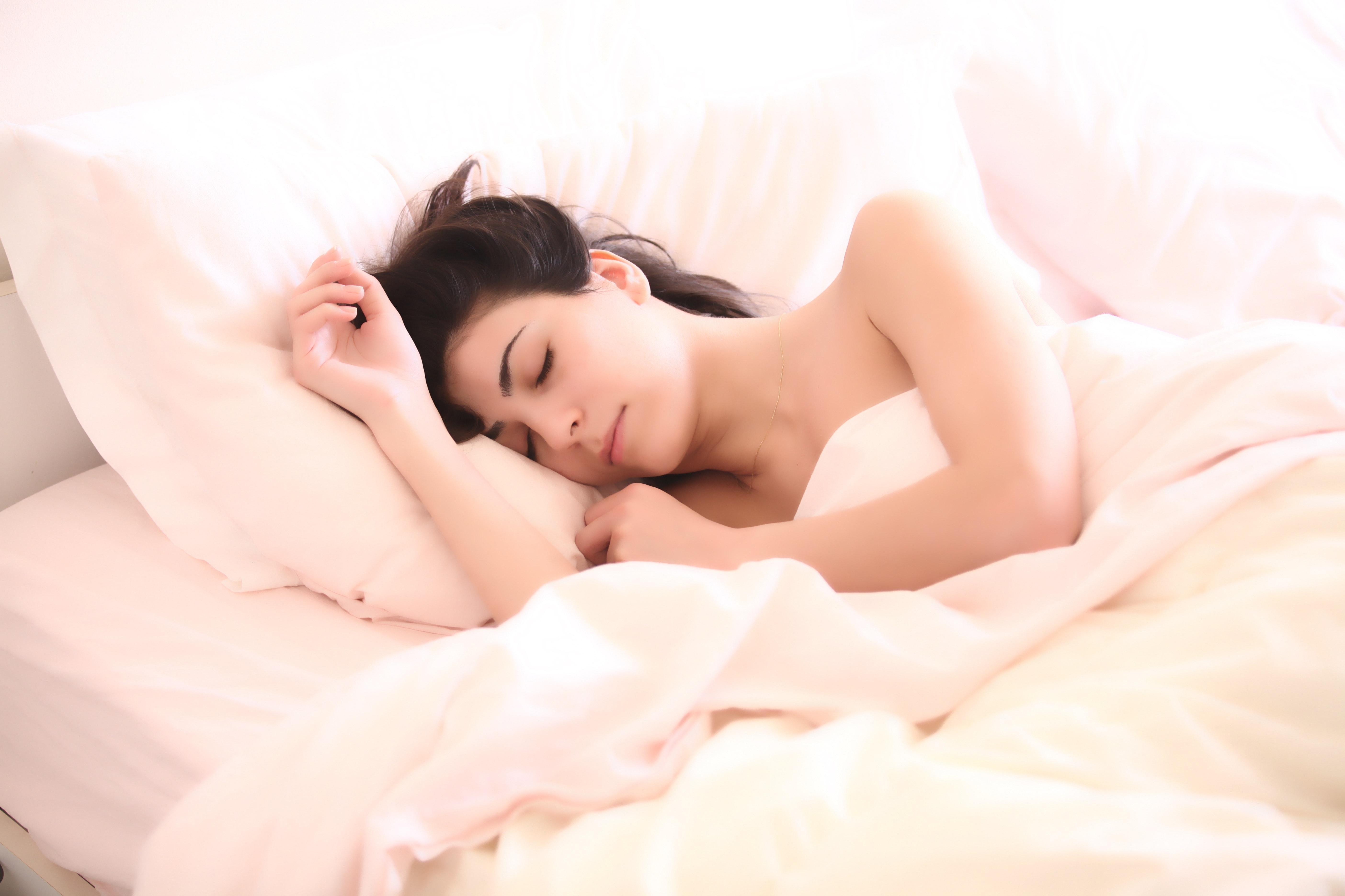 spánok, žena